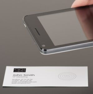 Пример пассивной NFC-метки с автозаписью контакта